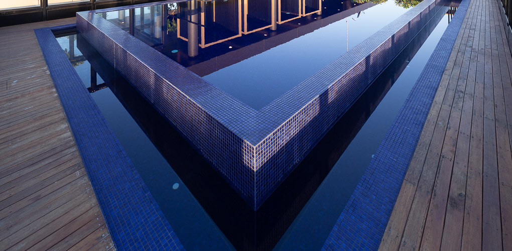 architecturally designed roof top pools sydney