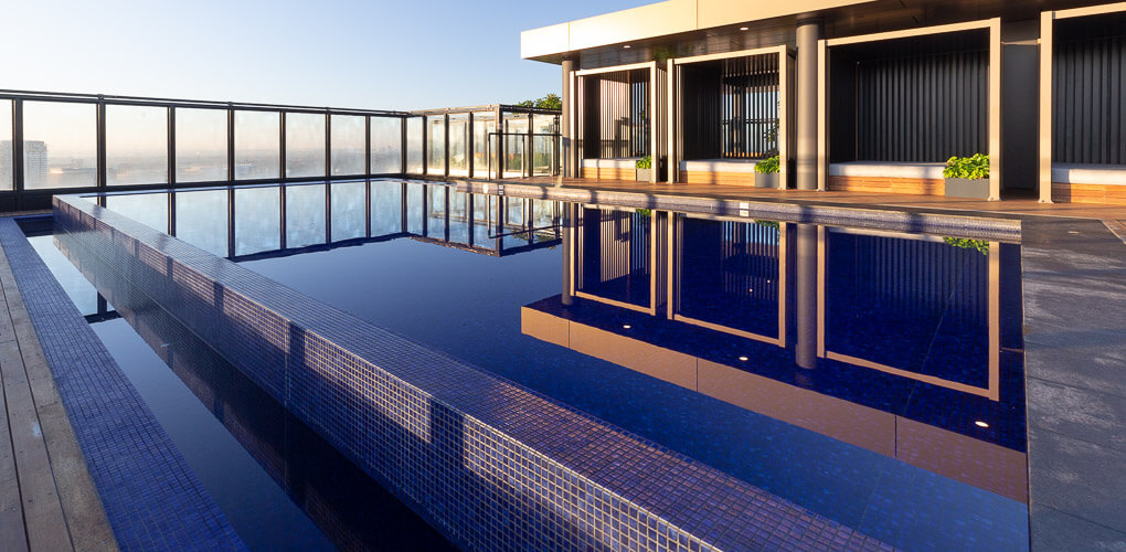 roof top pool constructions sydney