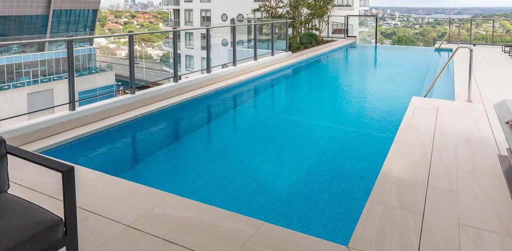rooftop pool designer eastern suburbs