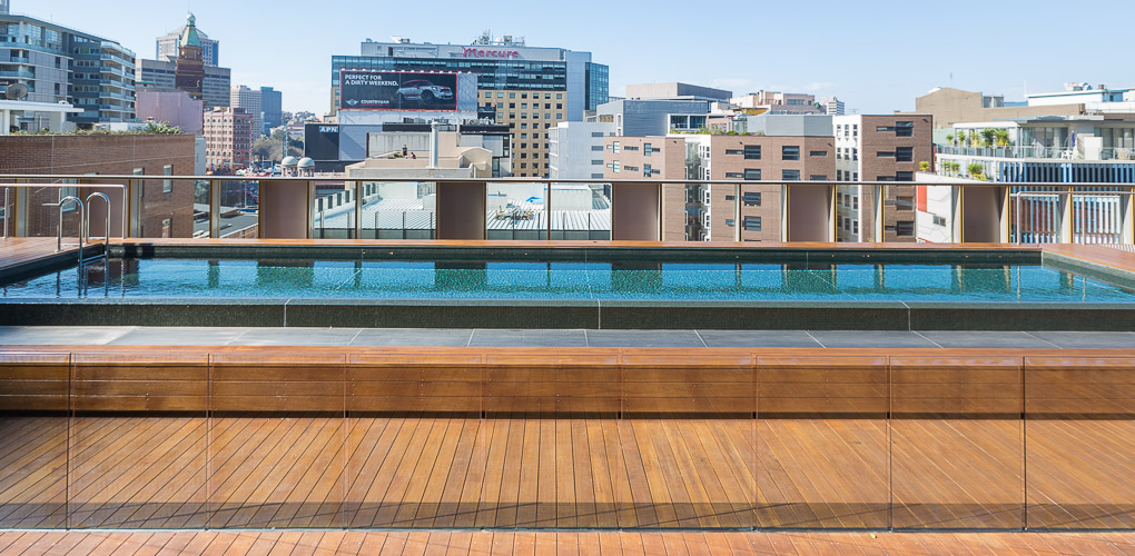 rooftop swimming pool build company