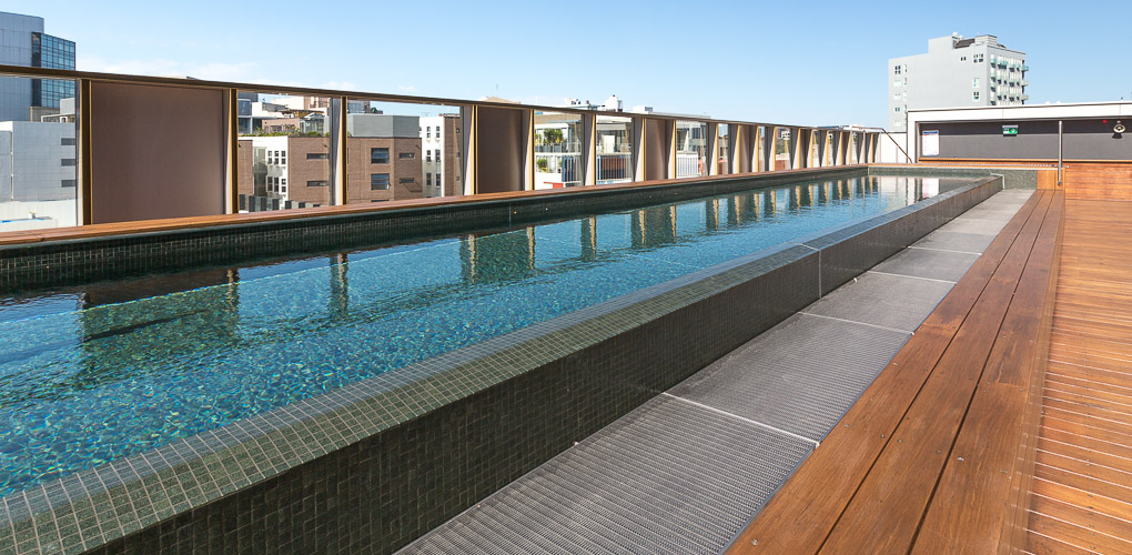 rooftop swimming pool design company australia