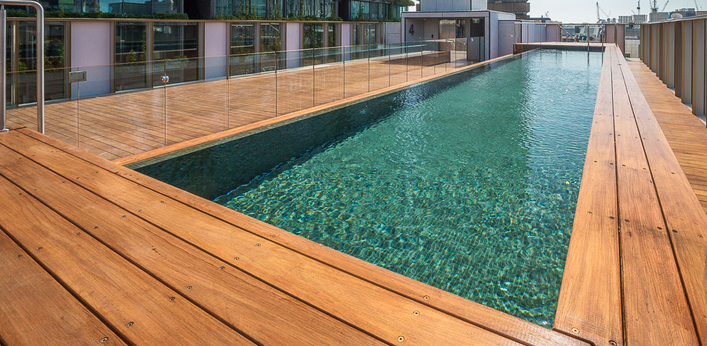 rooftop swimming pool design company sydney