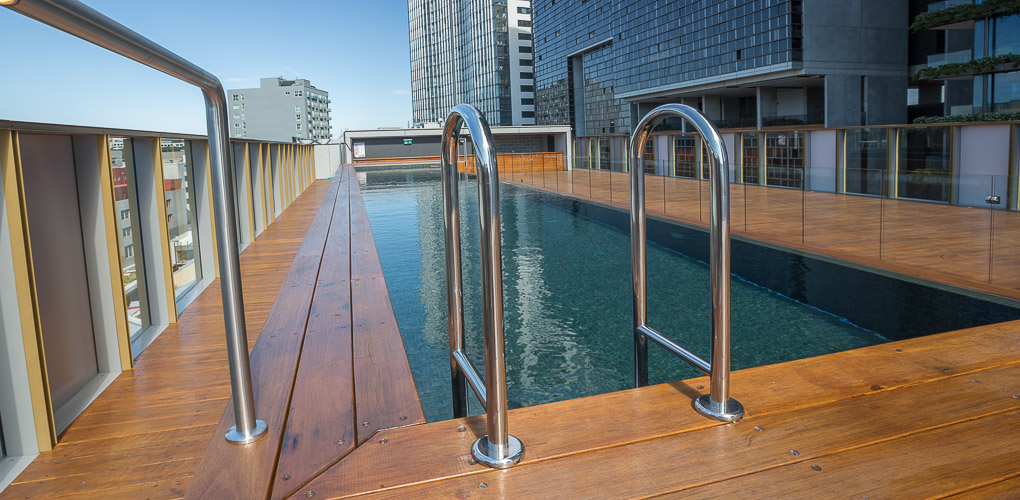 rooftop swimming pool design company