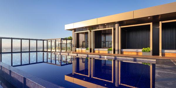 sydney pool builders rooftop
