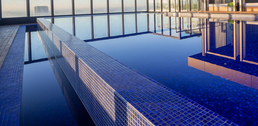 sydney roof top swimming pool designs
