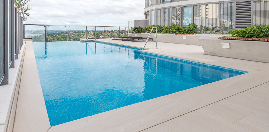 sydney rooftop swimming pool designers eastern suburbs
